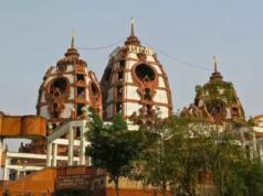 Iskon Temple In Delhi